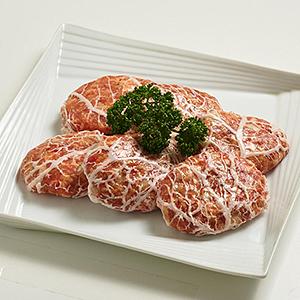 福島牛&うつくしまエゴマ豚 網脂生ハンバーグ